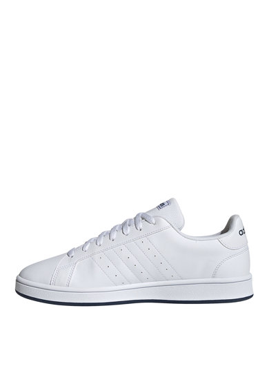 adidas Performance Pantofi sport de piele ecologica Grand Court Base Barbati