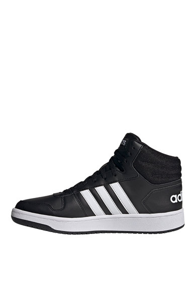 adidas Performance Pantofi sport mid-cut de piele ecologica Hoops 2.0 Barbati