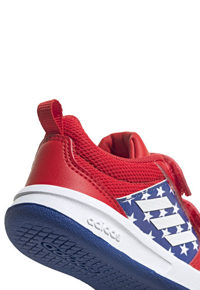 adidas Performance Pantofi sport cu velcro si model Marvel Baieti