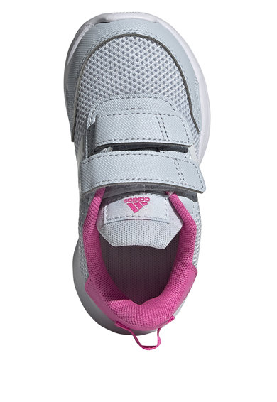 adidas Performance Pantofi sport cu insertii de piele ecologica Tensaur Run Fete