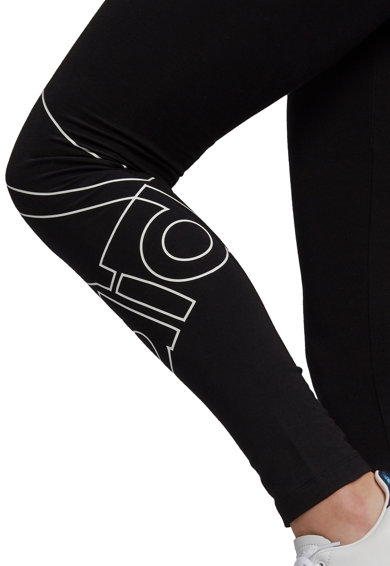 adidas Performance Colanti cu imprimeu logo pentru fitness Essentials Femei