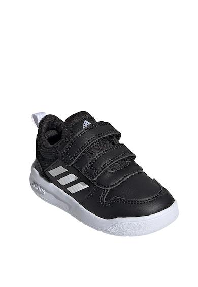 adidas Performance Pantofi sport din piele ecologica cu inchidere velcro Tensaur I Baieti