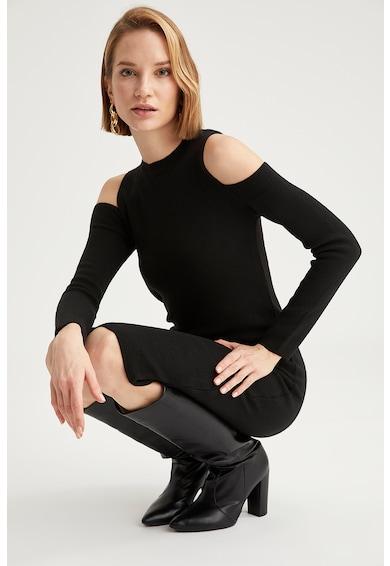DeFacto Rochie tip pulover midi cu decupaje Femei