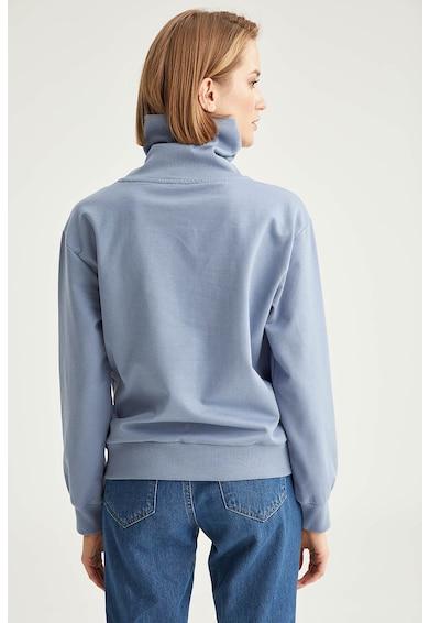 DeFacto Bluza sport din amestec de bumbac cu guler inalt Femei