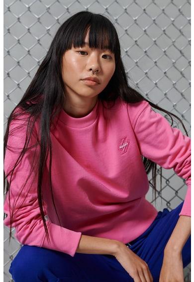SUPERDRY Bluza sport cu decolteu la baza gatului Femei