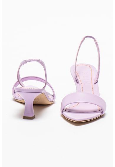 3JUIN Sandale slingback de piele Orchid Femei