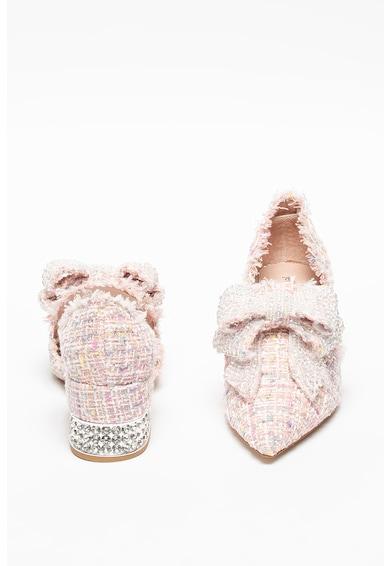 Jeffrey Campbell Pantofi din tuid cu funda Valenti Femei