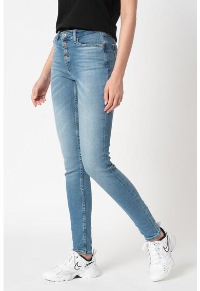Tommy Jeans Blugi skinny cu aspect decolorat Nora Femei