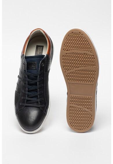 Bullboxer Кожени спортни обувки с деним Мъже