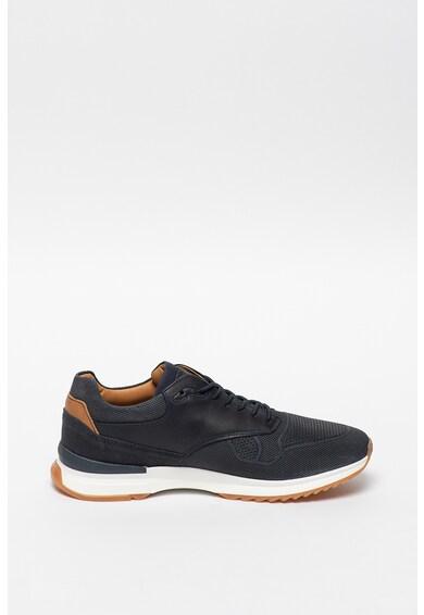 Bullboxer Текстилни спортни обувки с кожени елементи Мъже