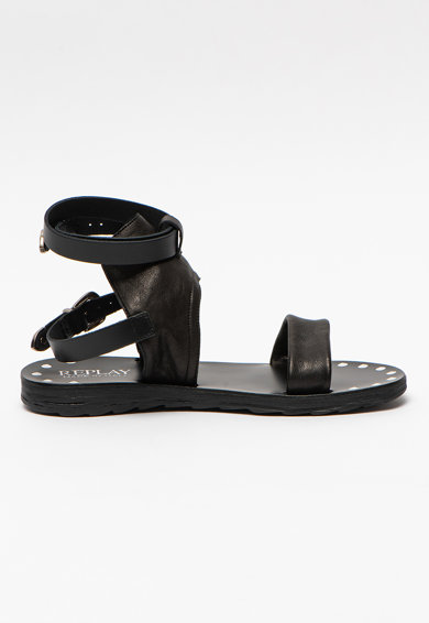 Replay Sandale de piele cu bareta pe glezna Lindsay Femei