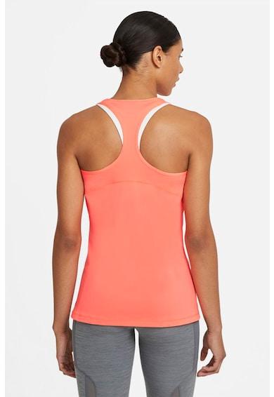 Nike Top slim fit de plasa, pentru fitness Pro Femei