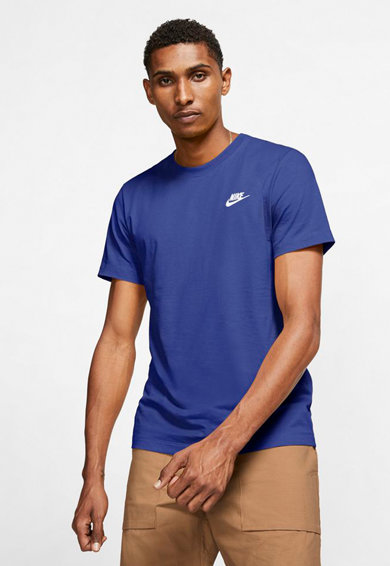 Nike Tricou cu logo brodat Club Barbati