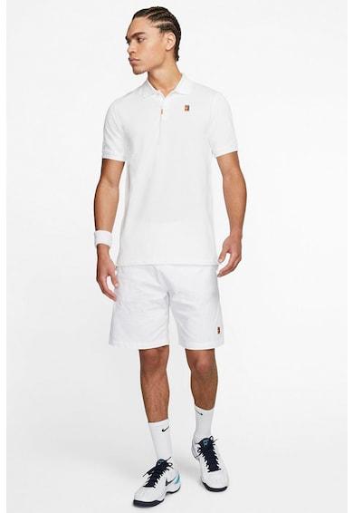 Nike Tricou slim fit pentru tenis Heritage Barbati