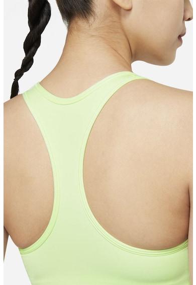 Nike Bustiera cu burete si tehnologie Dri-fit pentru antrenament Swoosh Femei