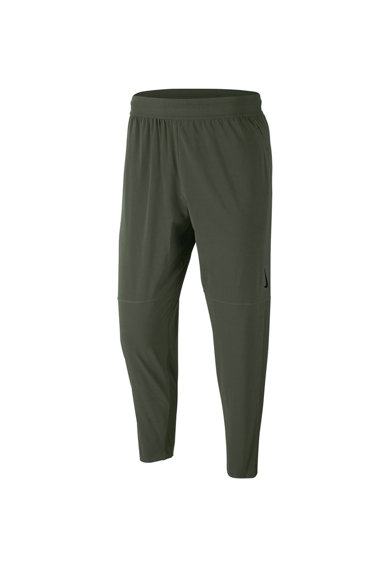 Nike Pantaloni cu insertii din plasa si tehnologie Dri-Fit pentru yoga Barbati