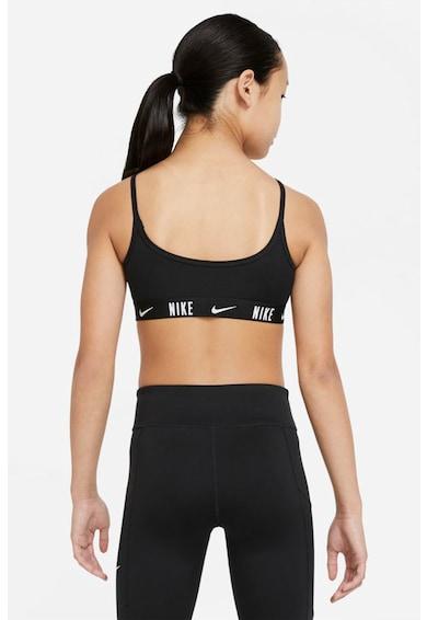 Nike Bustiera cu tehnologie Dri-Fit cu banda logo pentru antrenament Trophy Fete