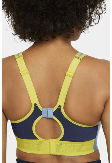 Nike Bustiera cu sustinere sporita si tehnologie Dri-Fit, pentru fitness Alpha UltraBreathe Femei