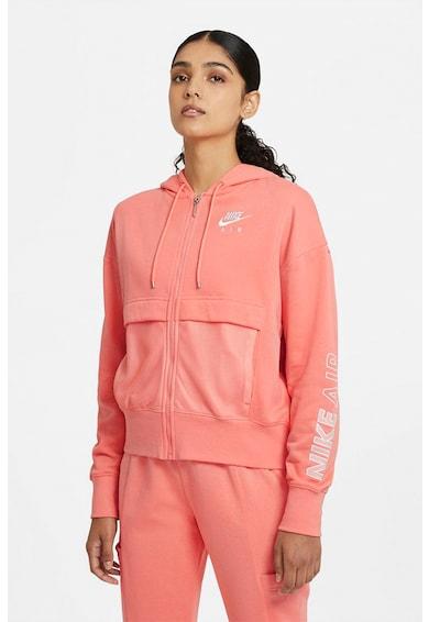 Nike Hanorac cu detalii de plasa Air FZ Femei