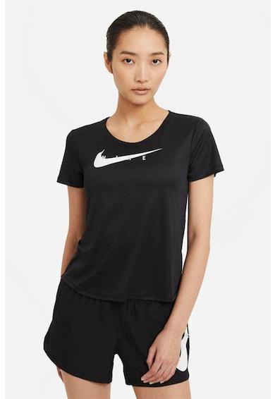 Nike Tricou cu tehnologie Dri-Fit pentru alergare Swoosh Femei