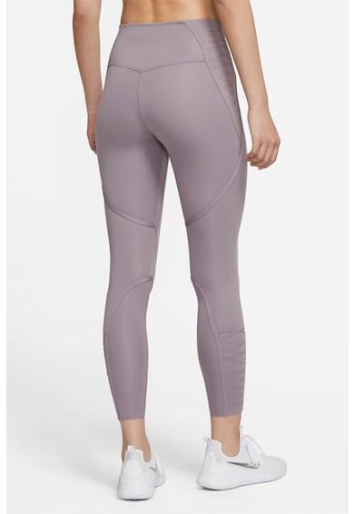 Nike Colanti crop cu tehnologie Dri-Fit pentru fitness One Lux Femei
