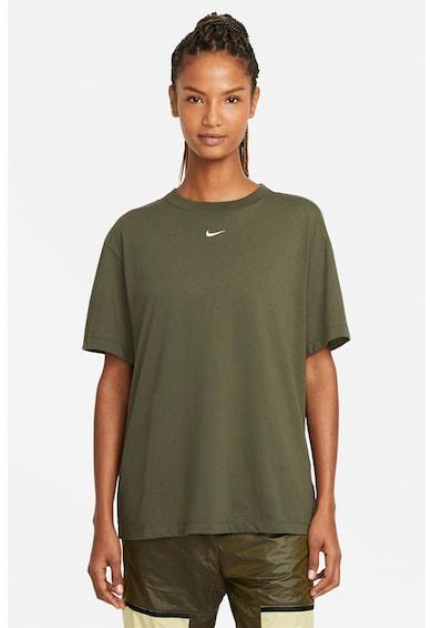 Nike Tricou cu decolteu la baza gatului Sportswear Essential Femei
