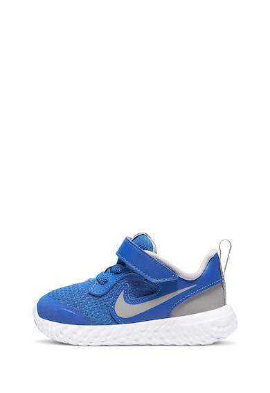 Nike Pantofi sport texturati cu banda velcro Revolution 5 Fete