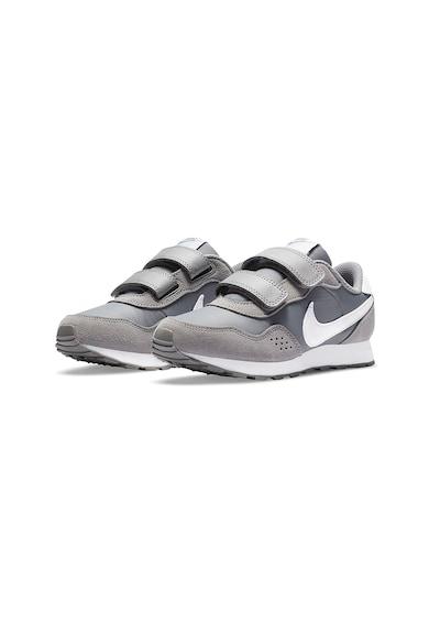 Nike Pantofi sport cu insertii de piele intoarsa si velcro Valiant Baieti