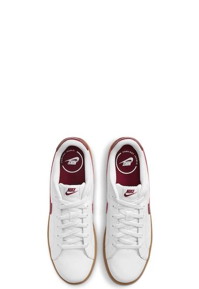 Nike Pantofi sport de piele cu logo Court Royale 2 Barbati