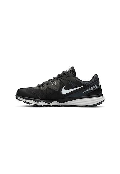 Nike PAntofi cu insertii de piele, pentru alergare Juniper Trail Femei