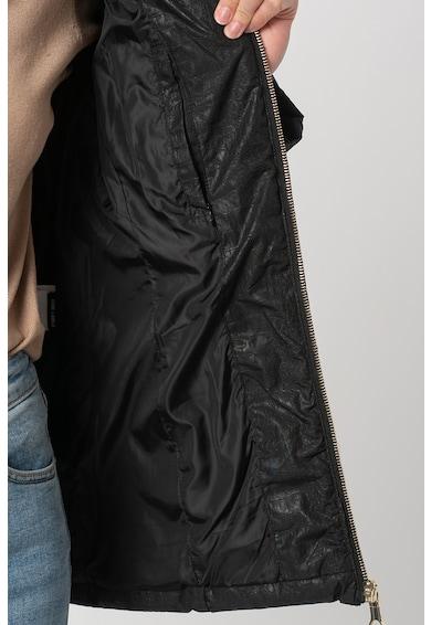 FEDERICA COSTA Geaca cu vatelina si garnitura detasabila de blana sintetica Femei