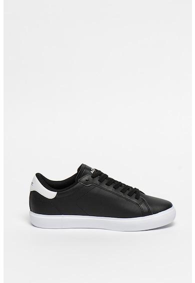Lacoste Pantofi sport de piele cu logo Powercourt Femei