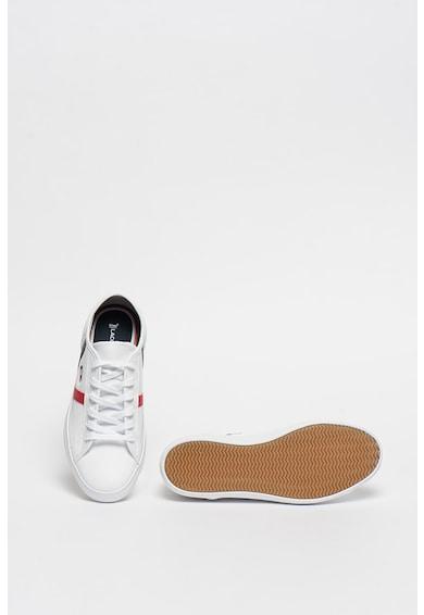 Lacoste Pantofi sport cu insertii de piele intoarsa Sideline Femei