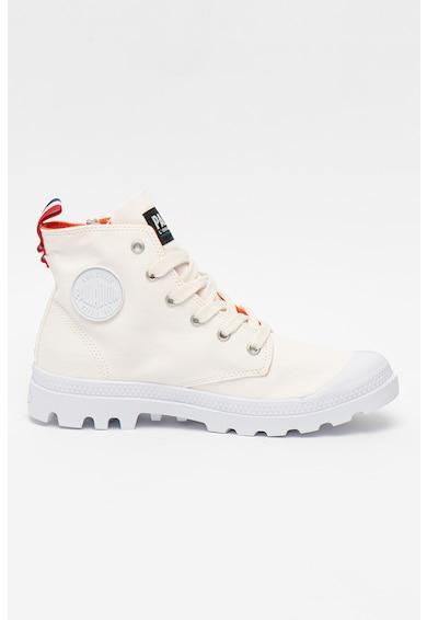 Palladium Pantofi sport unisex high-cut din material textil Femei