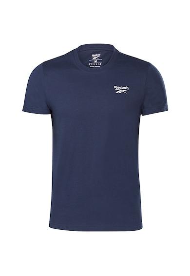 Reebok Tricou cu logo brodat pe piept, pentru fitness Identity Barbati
