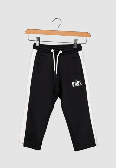Diesel Pantaloni sport cu snur si parti laterale contrastante Baieti