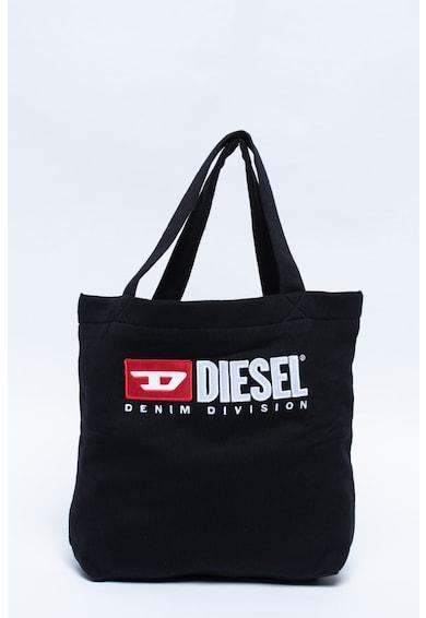 Diesel Geanta shopper cu broderie logo Fete
