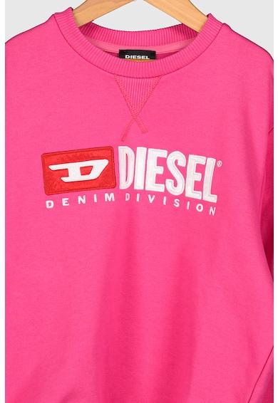 Diesel Bluza sport cu maneci cu volane Fete