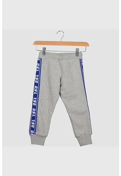 Diesel Pantaloni sport cu segmente laterale contrastante Fete