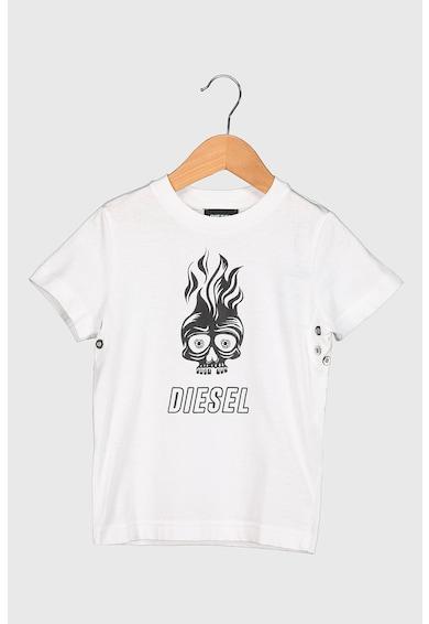 Diesel Tricou de bumbac cu imprimeu Fete