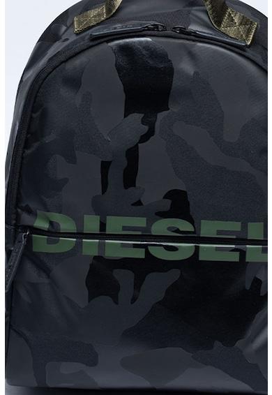 Diesel Rucsac cu imprimeu camuflaj si logo Fete