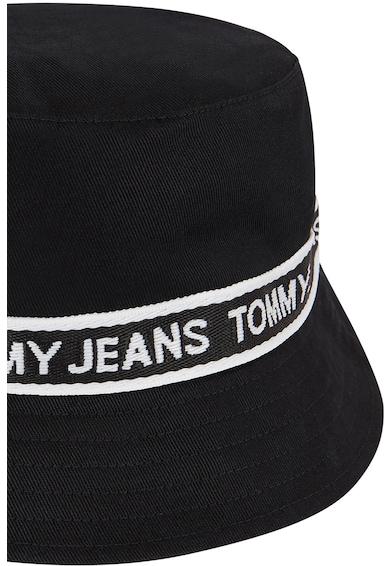 Tommy Jeans Palarie bucket de bumbac organic cu banda logo Femei