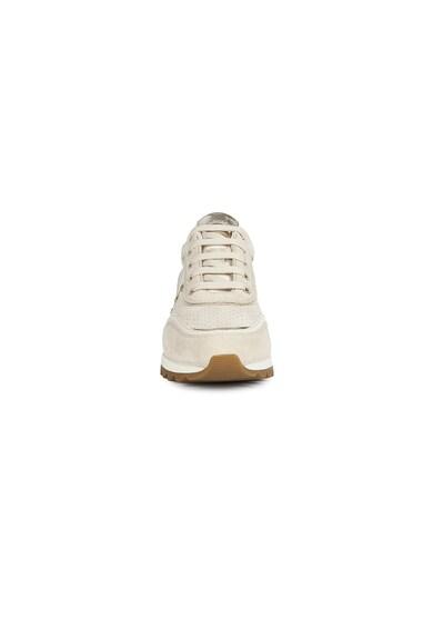 Geox Pantofi sport din material respirabil cu garnituri din piele intoarsa si piele D Tabelya Femei