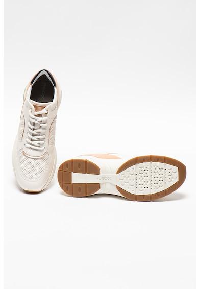 Geox Pantofi sport cu perforatii si insertii de piele Alhour Femei