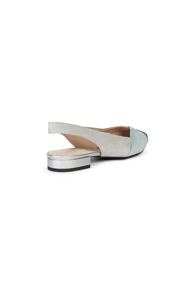 Geox Pantofi slingback cu varf ascutit si piele intoarsa Femei