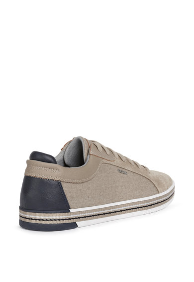 Geox Pantofi sport cu insertii de piele intoarsa Barbati