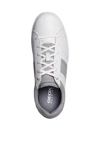 Geox Pantofi sport cu insertii textile si din piele Barbati