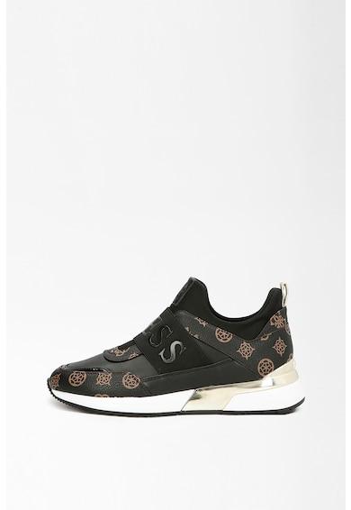 Guess Pantofi sport slip-on de piele ecologica aplicatie logo Femei