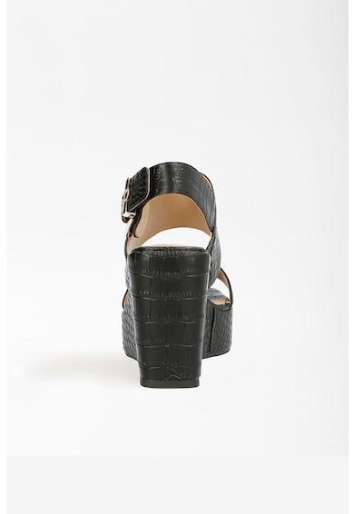 Guess Sandale wedge de piele ecologica Nolita Femei