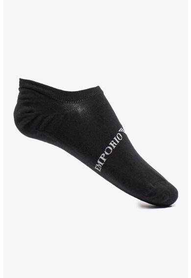 Emporio Armani Underwear Set de sosete foarte scurte, 2 perechi Barbati